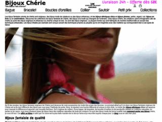 Détails : Bijoux fantaisie et mode de Chérie
