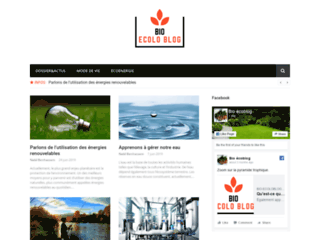 Bio-ecoloblog : tout savoir sur l'écologie