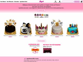 Détails : Votre gâteau d'anniversaire bio et sans oeufs