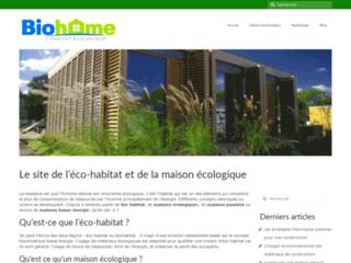 Maison passive et maison écologique