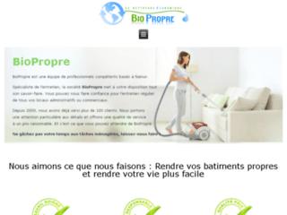 Biopropre, entreprise de nettoyage à Namur en Belgique