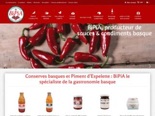 condiments et épices basques