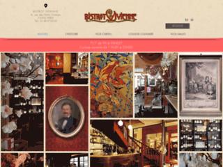Détails : Restaurant bistrot galerie Vivienne Louvre et Comédie Française - Bistrot Vivienne