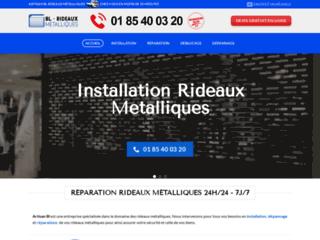 Détails : Déblocage rideau métalliqueParis 1