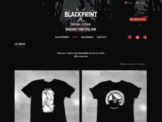 BLACKPRINT - Infernal Clothing