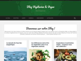 Détails : Blog d'informations sur le végétalisme