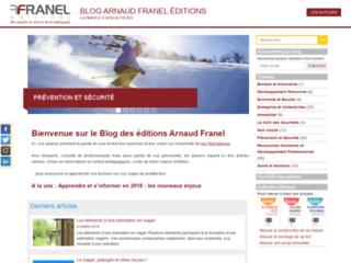Blog des éditions Arnaud Franel