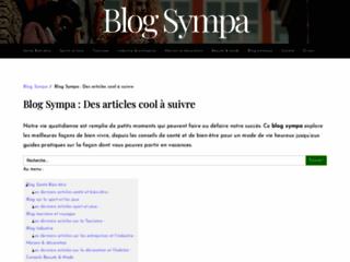 Détails : Blog généraliste sympa