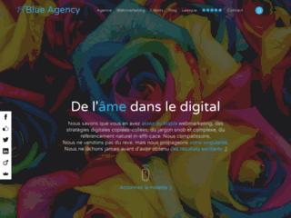 Détails : Blue Agency, agence webmarketing