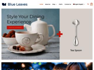 Détails : Cuillères thé et café | Boutique en ligne Blue Leaves