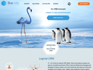 Détails : Blue Note Systems, solution logiciel CRM