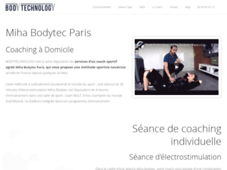 Coach en electro-stimulation à Paris