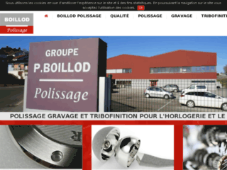 Polissage gravage tribofinition