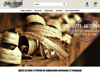Détails : Objets en bois sur boisetpoterie.com