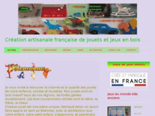 Créateur de jouets et jeux en bois, fabrication artisanale française