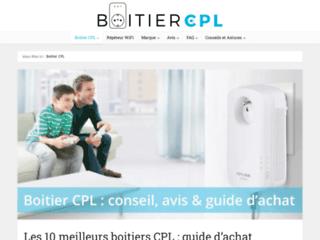 Détails : https://www.boitiercpl.fr