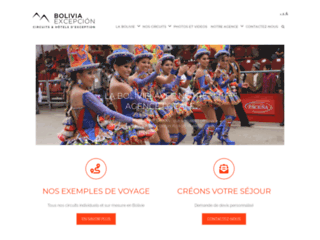Détails : Voyager en Bolivie avec l'agence Bolivia Excepción