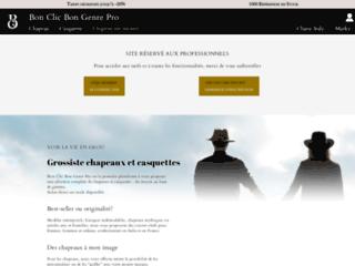 Grossiste chapeaux et casquettes, qualité italienne et française