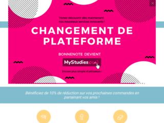 Détails : bonnenote.fr