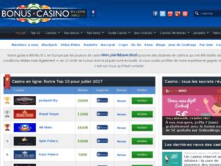 Détails : Casino en ligne français