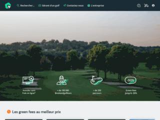 Détails : Réservation de parcours de golf à distance