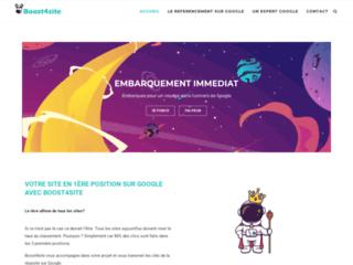 Détails : Boost4site, référencement Google sur Genève