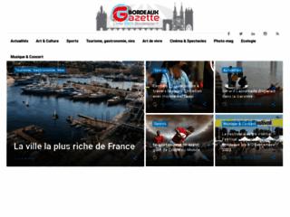 Détails : Bordeaux Gazette