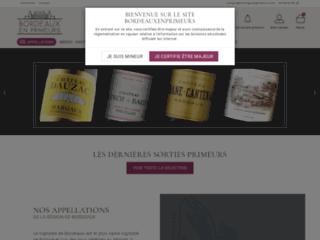 Boutique de vins de Bordeaux en primeur