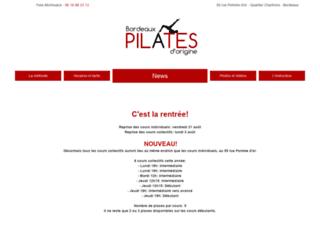 Détails : Le studio Bordeaux Pilates d'Origine