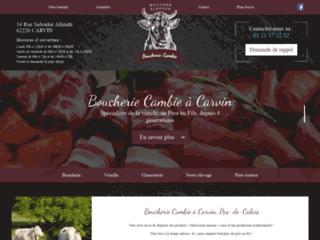 Boucherie Cambie à Carvin, Pas-de-Calais