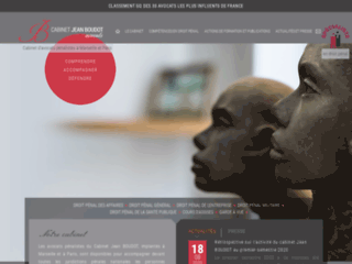 Cabinet d'avocats pénalistes Jean Boudot sur Marseille et Paris