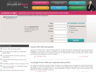 Détails : Bourse en ligne