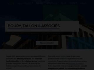Boury Tallon - Cabinet d'Affaires Publiques et Relations Institutionnelles
