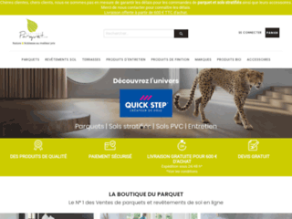 Détails : Boutique Parquet