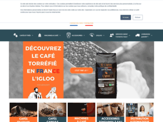 Détails : L'Igloo Café Boutique, distributeurs automatiques de café