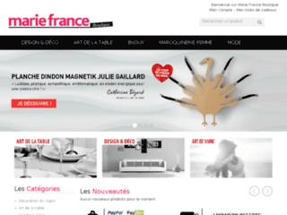 Détails : Marie France : une nouvelle boutique déco