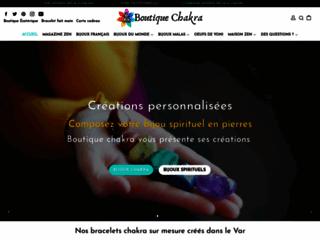 Boutique Chakra, tous les articles pour le bonheur