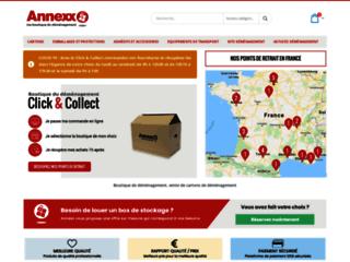 Annexx, boutique de déménagement en France