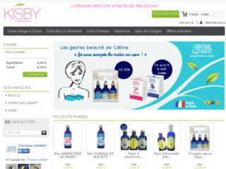 Détails : Boutique officielle Kisby, des produits naturels d'exceptions