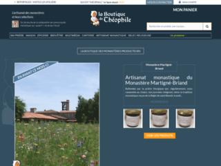Détails : Galerie marchande des produits de l'artisanat monastique