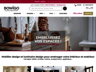 Bowigo : objets de décoration et luminaires contemporain.
