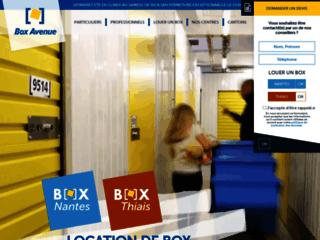 Détails : Boxavenue, garde meuble à Paris et Nantes