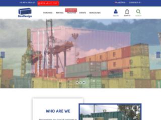 BoxDesign, spécialiste du container et de l'aménagement sur mesure en Guyane
