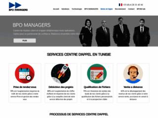 Détails : BPO Managers, centre d'appel en Tunisie