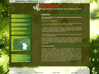 Détails : Jardin sur l'arbresle avec brevenne