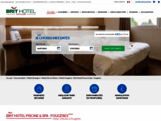 Détails : Hôtel 3 étoiles à Fougères en Bretagne