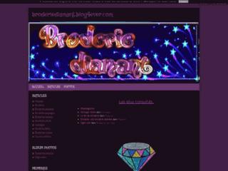 Broderie diamant