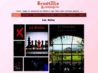 Détails : Broutille et Compagnie : cours de théâtre