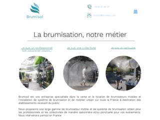 Brumisol : spécialiste de la brumisation pour professionnels