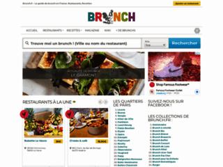 Détails : Le guide en ligne du brunch en France